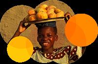 Mango-Frucht aus dem Regenwald West-Afrikas